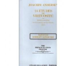ANDERSEN J. 24 ETUDES DE...