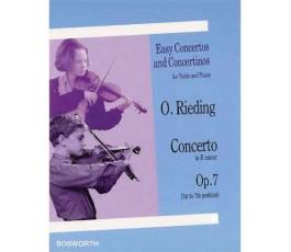 RIEDING O. CONCERTO IN E...