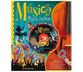 MÚSICA PARA NIÑOS (+CD)