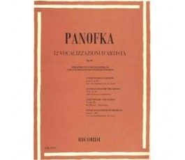 PANOFKA 12 VOCALIZZI...