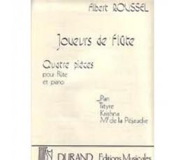 ROUSSEL A. JOUEURS DE FLÛTE...