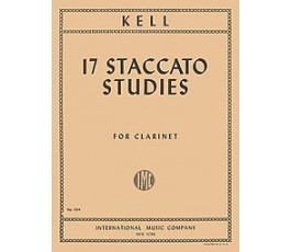 KELL 17 STACCATO STUDIES