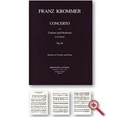 KROMMER F. CONCERTO Op. 86...