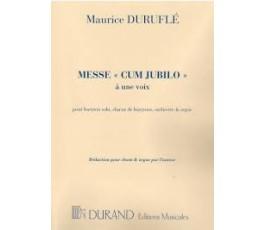 "DURUFLÉ M. MESSE ""CUM..."