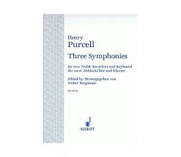 PURCELL H. THREE SYMPHONIES
