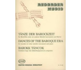DANCES OF THE BAROQUE ERA...