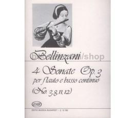BELLINZANI 4 SONATE OP.3