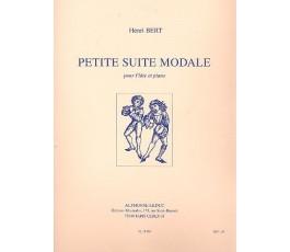 BERT H. PETITE SUITE MODALE