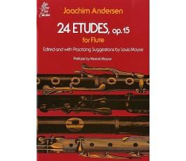 ANDERSEN J. 24 ETUDES,...