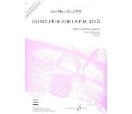 ALLERME J M. DU SOLFÈGE SUR...