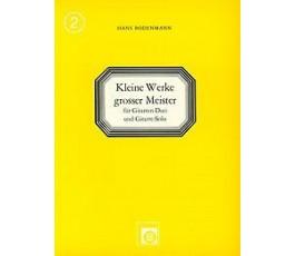 BODENMANN H. KLEINE WERKE...