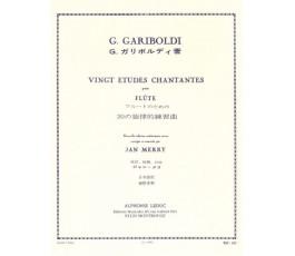 GARIBOLDI G. VINGT ETUDES...