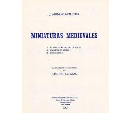 MUÑOZ MOLLEDA J. MINIATURAS...