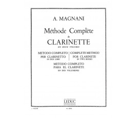 MAGNANI A. Methode Clarinet...