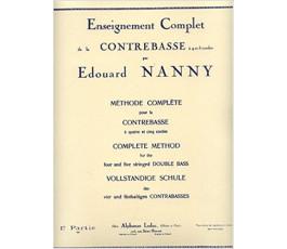 NANNY E. ENSEIGNEMENT...
