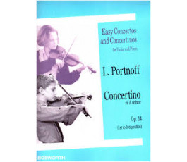 PORTNOFF L. CONCERTINO IN A...