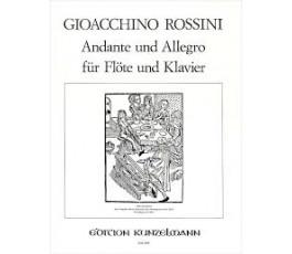 ROSSINI G. ANDANTE UND ALLEGRO