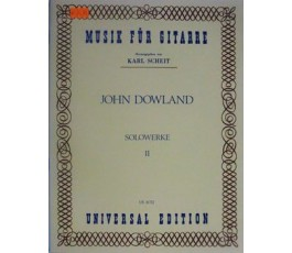 DOWLAND J. SOLOWERKE II GUITAR