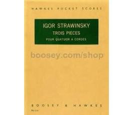 STRAVINSKY I. TROIS PIECES