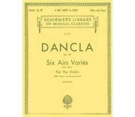 DANCLA SIX AIRS VARIES,...