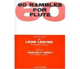 LESTER 60 RAMBLES FOR FLUTE