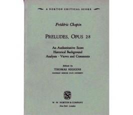 CHOPIN F. PRELUDES Op 28