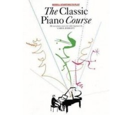 BARRATT CLASSIC PIANO COURSE 1