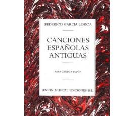 GARCIA LORCA F. CANCIONES...