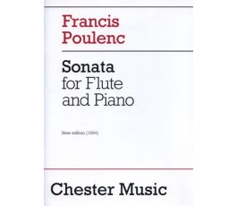 POULENC F. SONATA FLUTE AND...