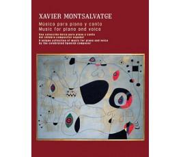 MONTSALVATGE X. MUSICA PARA...