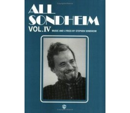 SONDHEIM ALL VOL IV
