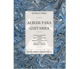 RIERA R. ALBUM PARA GUITARRA