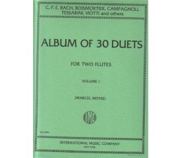 MOYSE M. ALBUM OF 30 DUETS...
